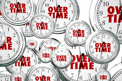 Time & Attendance Overtime Management & Clock Lockout
